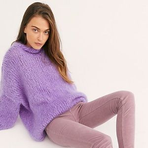 Free People Lilac Skinny Cords